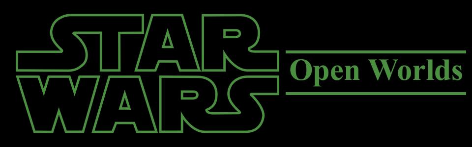 Star Wars Open Worlds