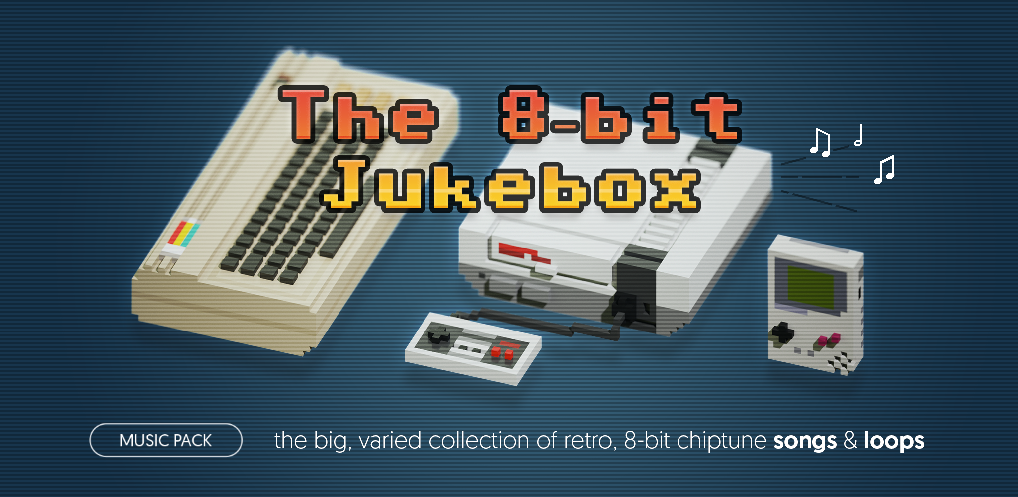 The 8-bit Jukebox - music pack