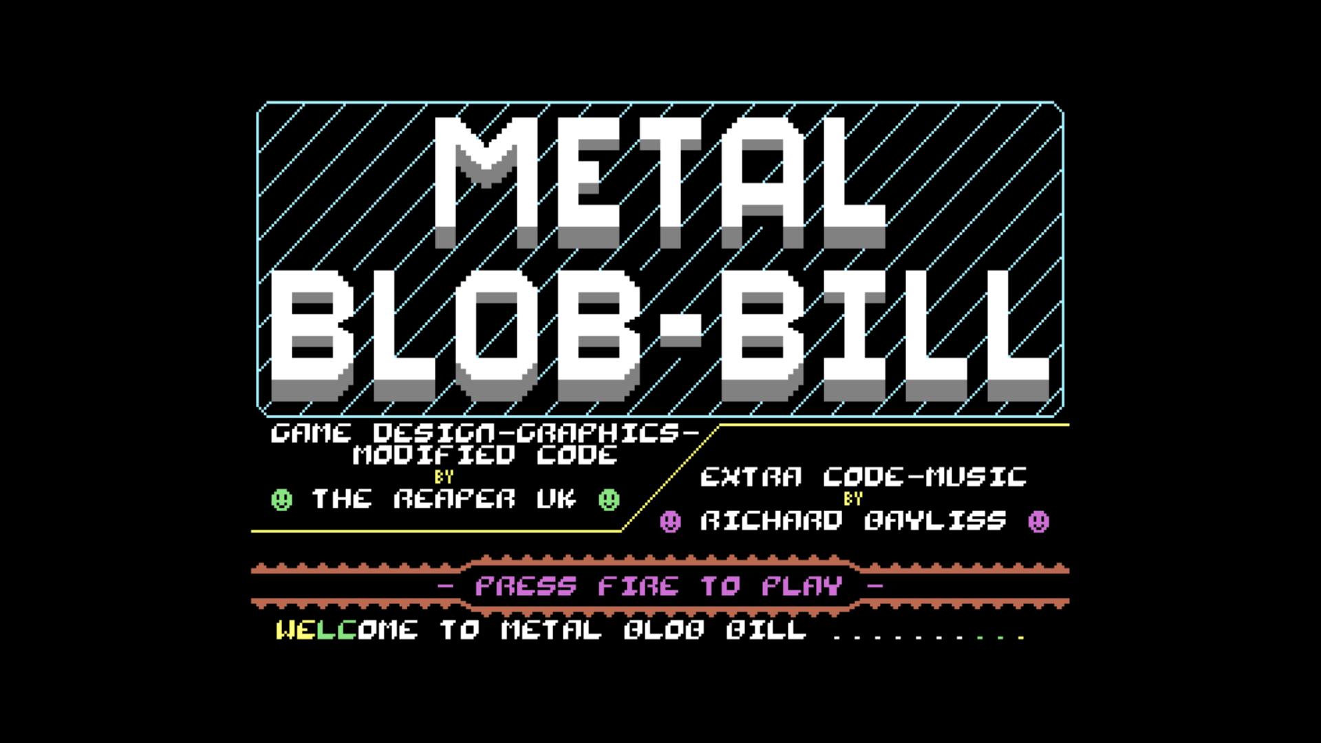 Metal Blob Bill (C64)