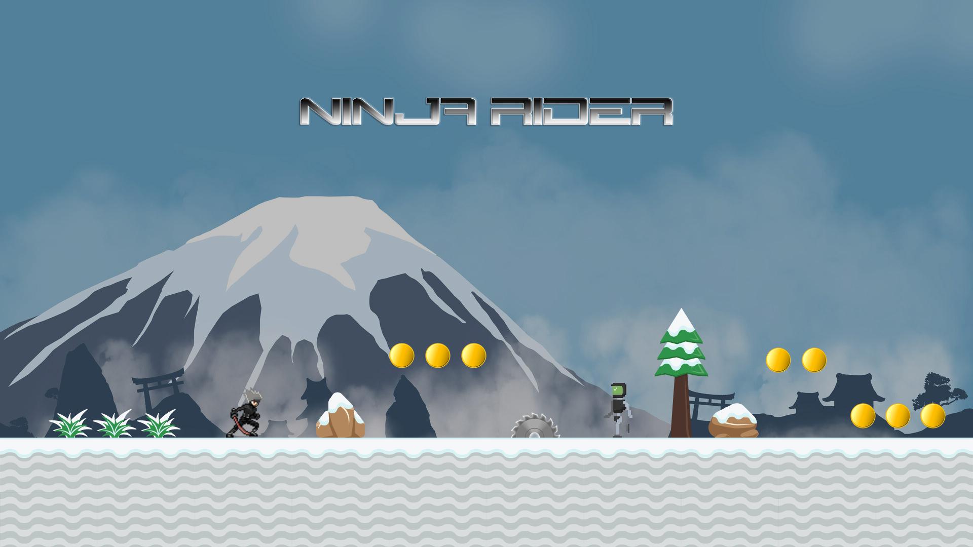Ninja Rider - Endless Runner
