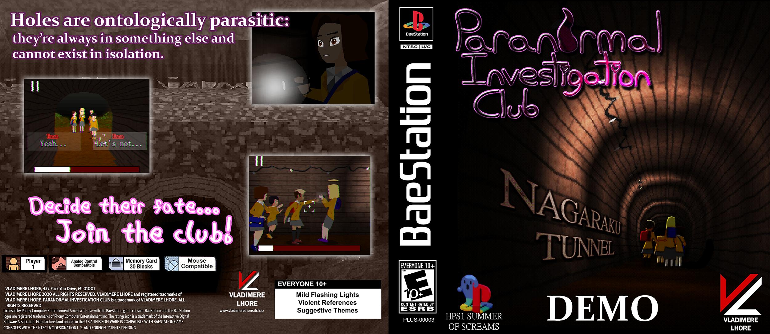 Paranormal Investigation Club : Nagaraku Tunnel (DEMO)