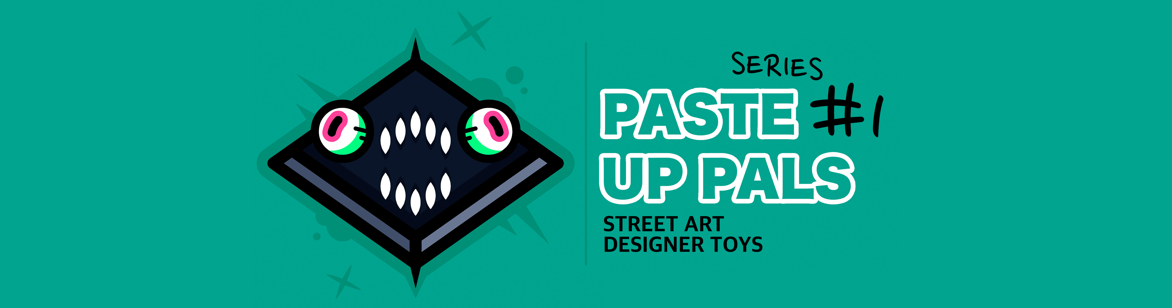 Paste Up Pals: Series One