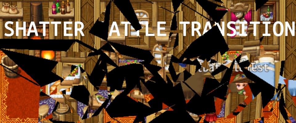 Shatter Battle Transition - for RPG MAKER MZ