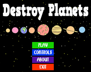 Destroy Planets