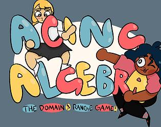 Acing Algebra: The Domain and Range Game!