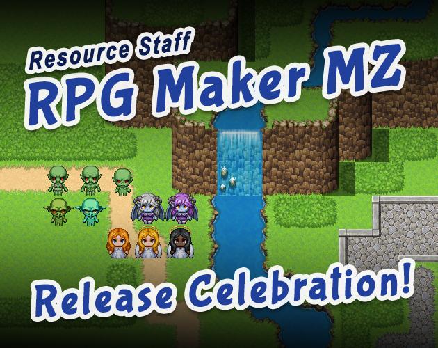 ReStaff RPG Maker MZ Release Celebration