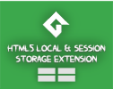 Game Maker HTML5 Local & Session Storage Extension