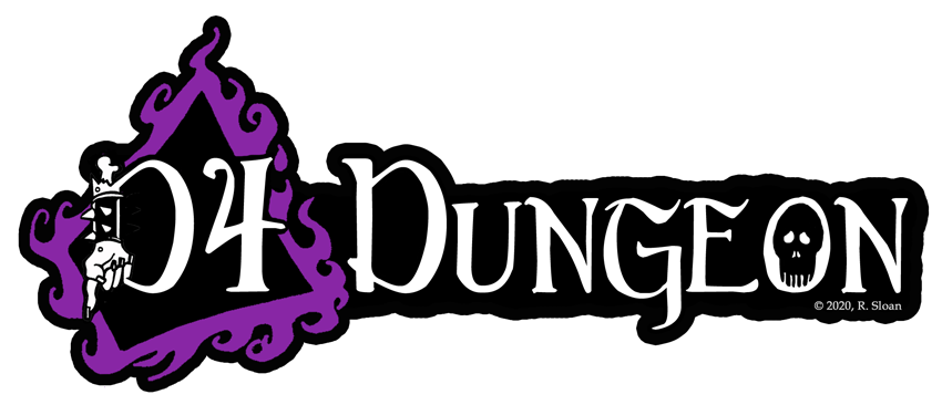 D4 Dungeon Logo