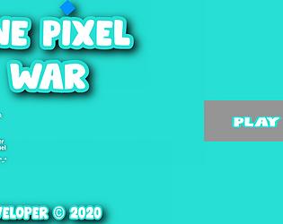 One Pixel War