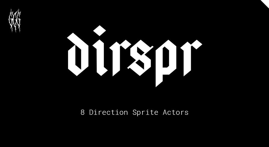 dirspr - retro doom-like 8 direction sprite actors
