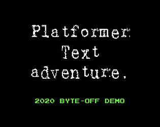Platformer Text Adventure