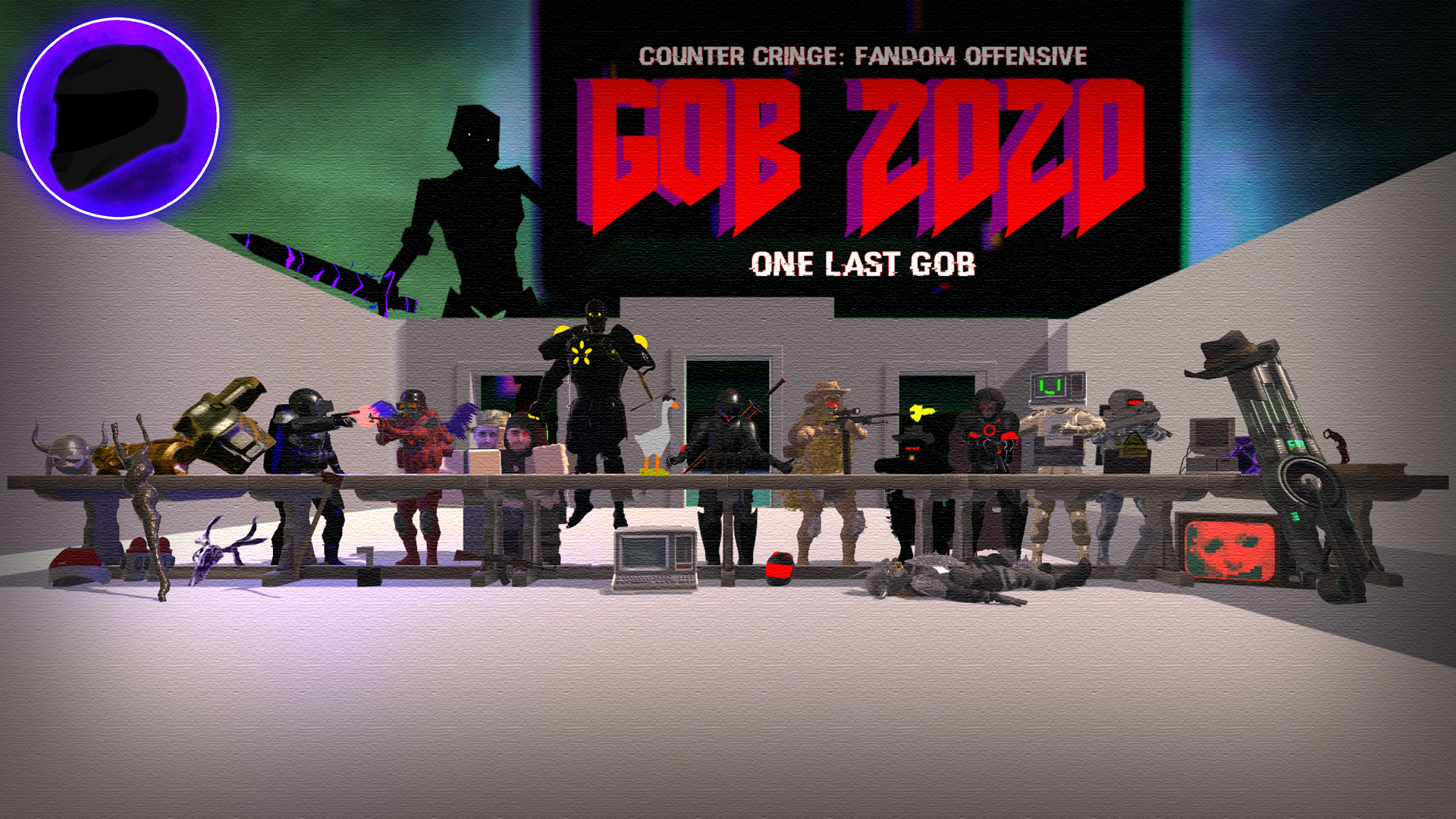 GoB 2020 - One Last GoB (Character/Class Based Multiplayer Shooter)(Counter Cringe/Fandom Offensive)