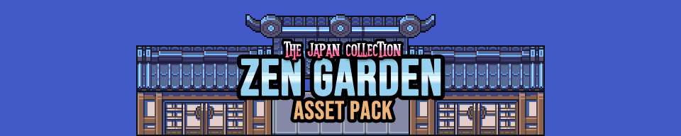 Japanese Zen Garden Game Assets