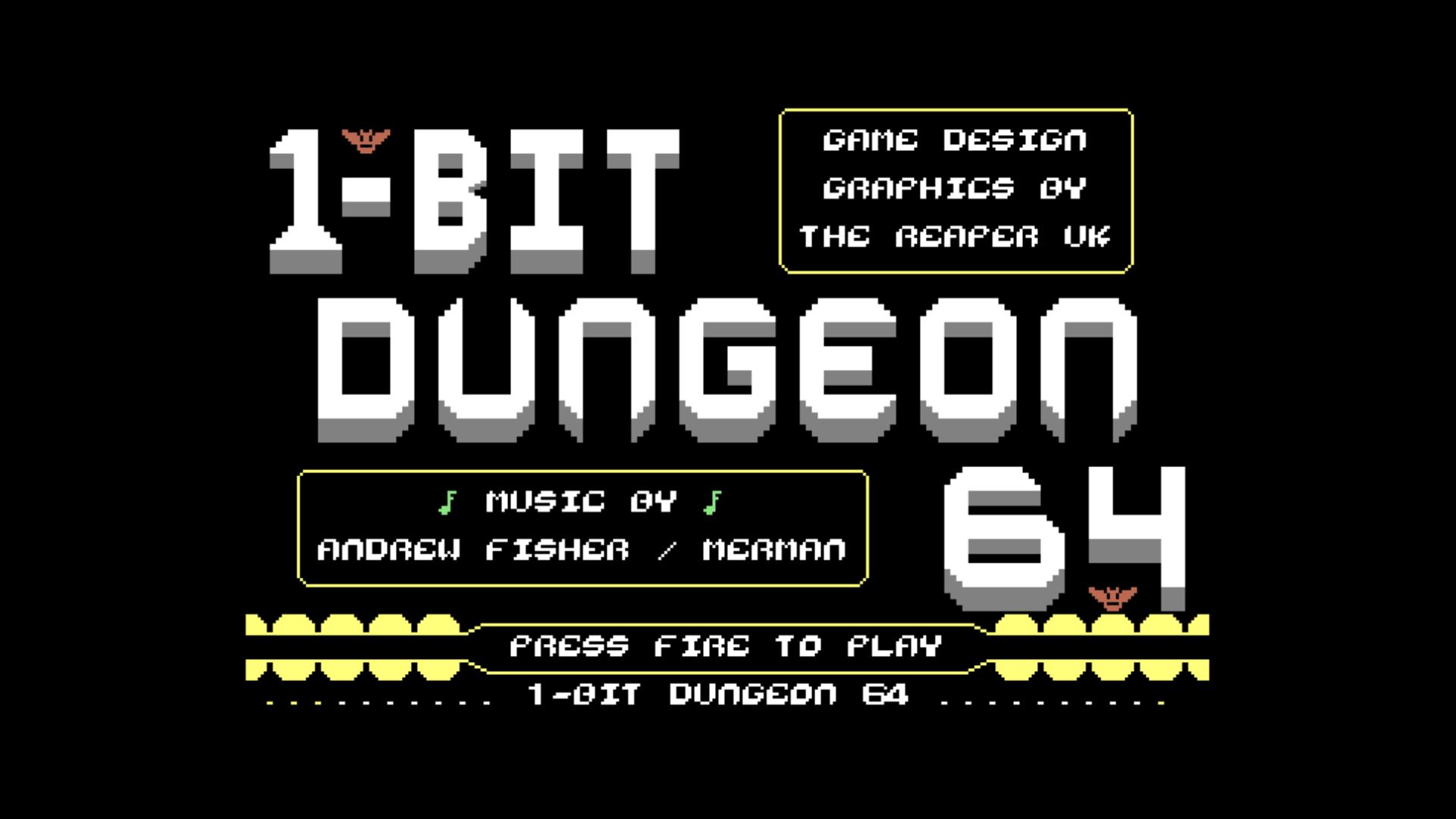 1-Bit Dungeon 64 (C64)