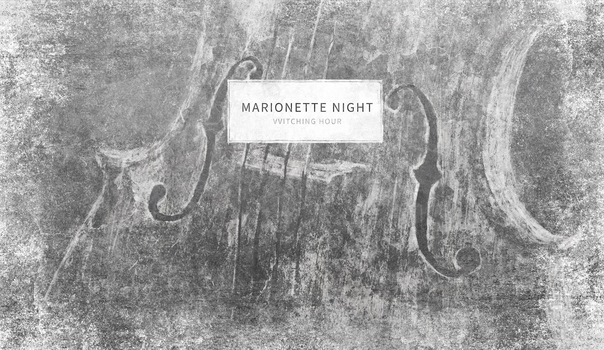 VVitching Hour: Marionette Night