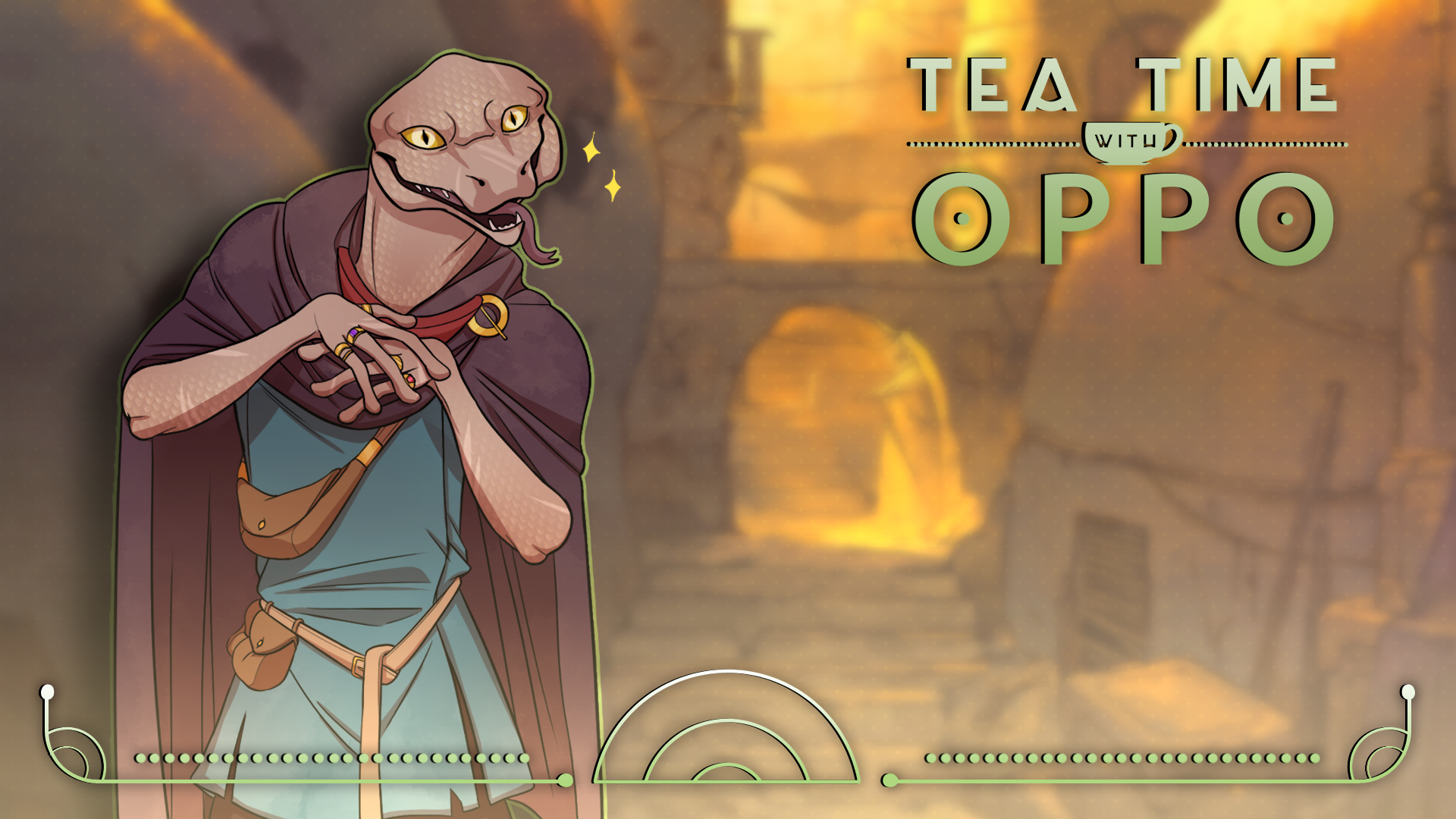 Andromeda Six | Tea Time with Oppo