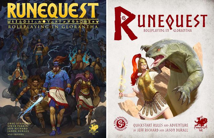 RuneQuest Core Rules & RuneQuest Quickstart and Adventure