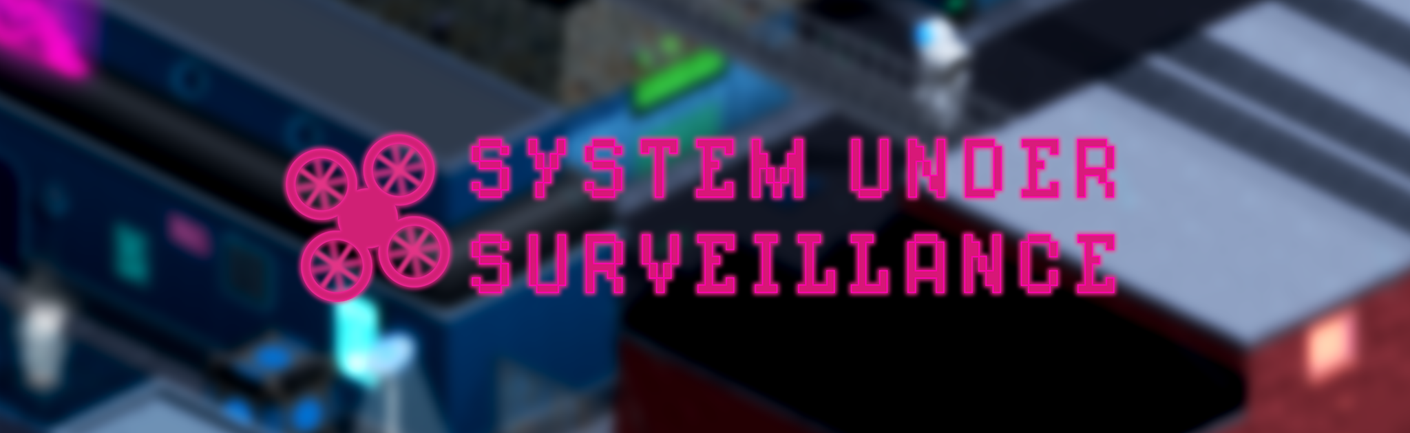Logo and title screen of System Under Surveillance