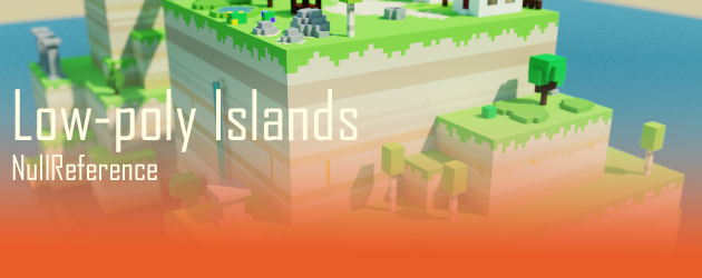 Low-poly Islands