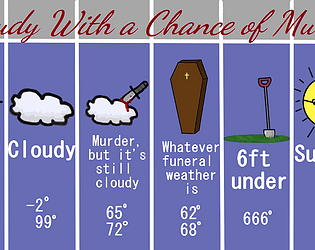 Cloudy With a Chance of Murder