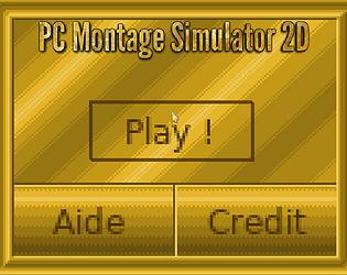 PC Montage Simulator 2D