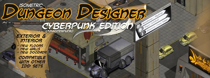 Isometric Dungeon Designer, Cyberpunk Edition