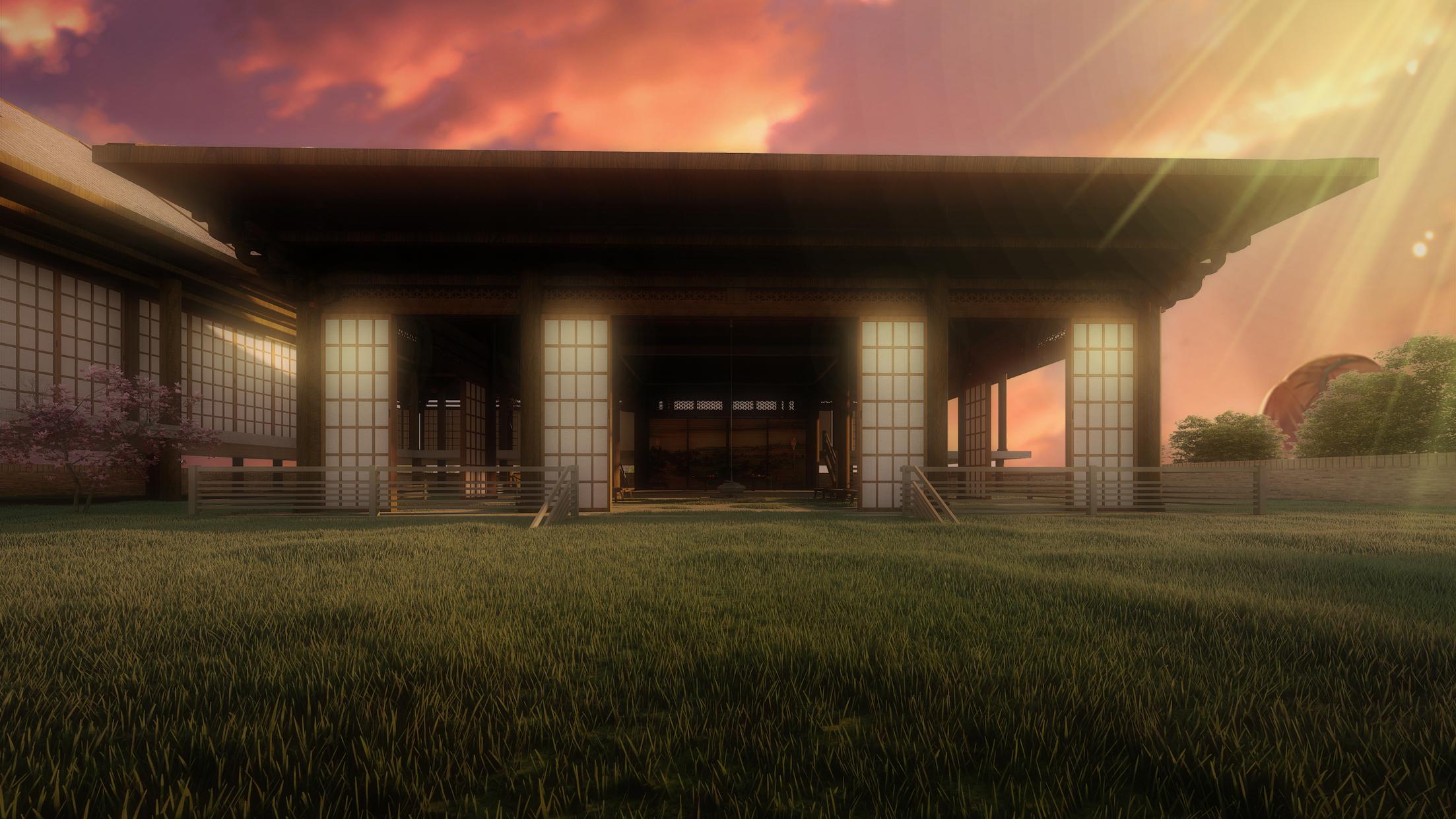 Japanese visual novel backgrounds