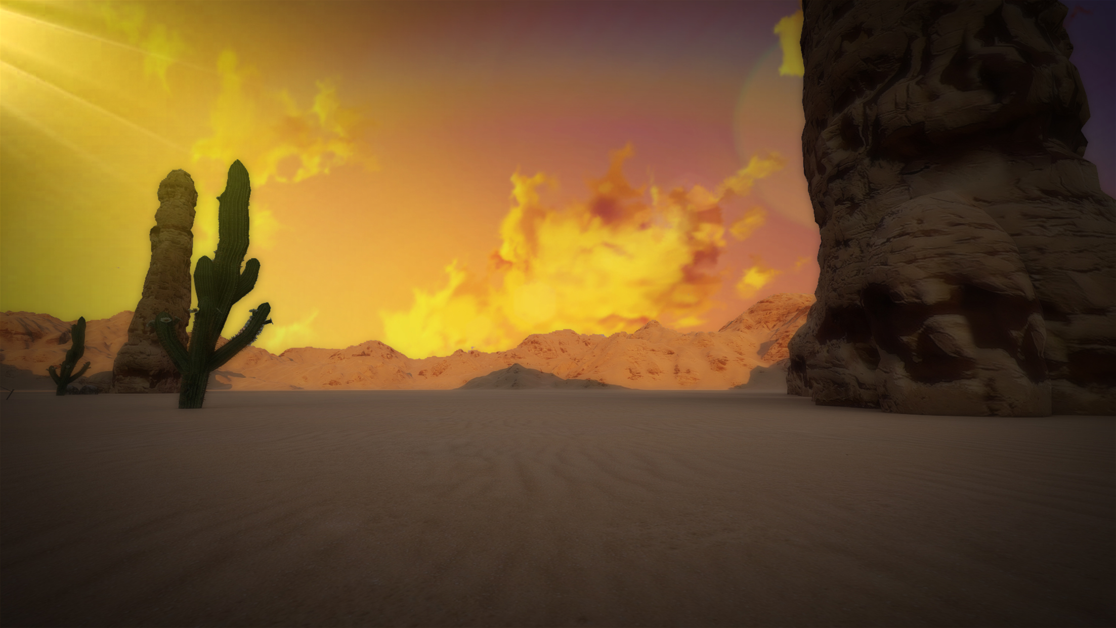 Free Desert Background