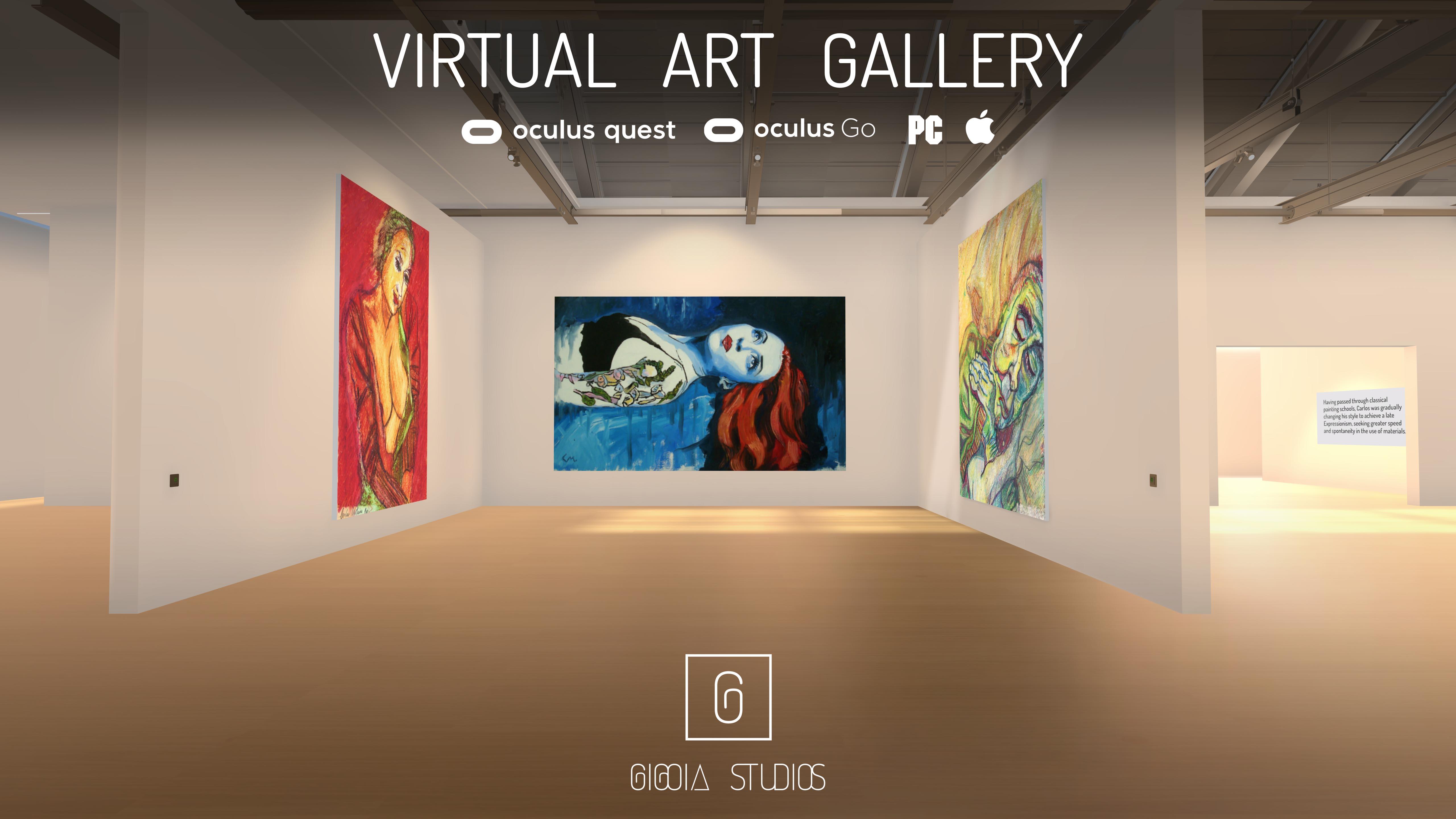 CLASSIC VIRTUAL ART GALLERY