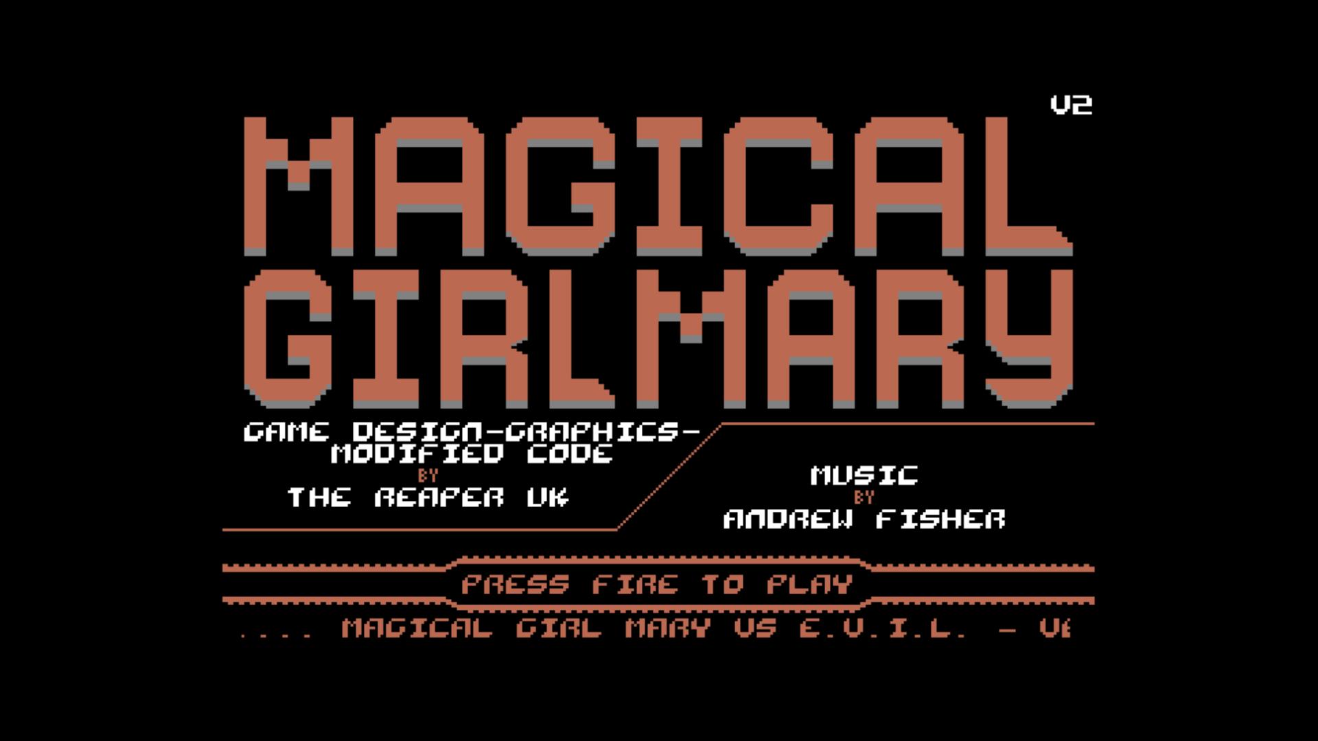 Magical Girl Mary VS E.V.I.L. V2 (C64)