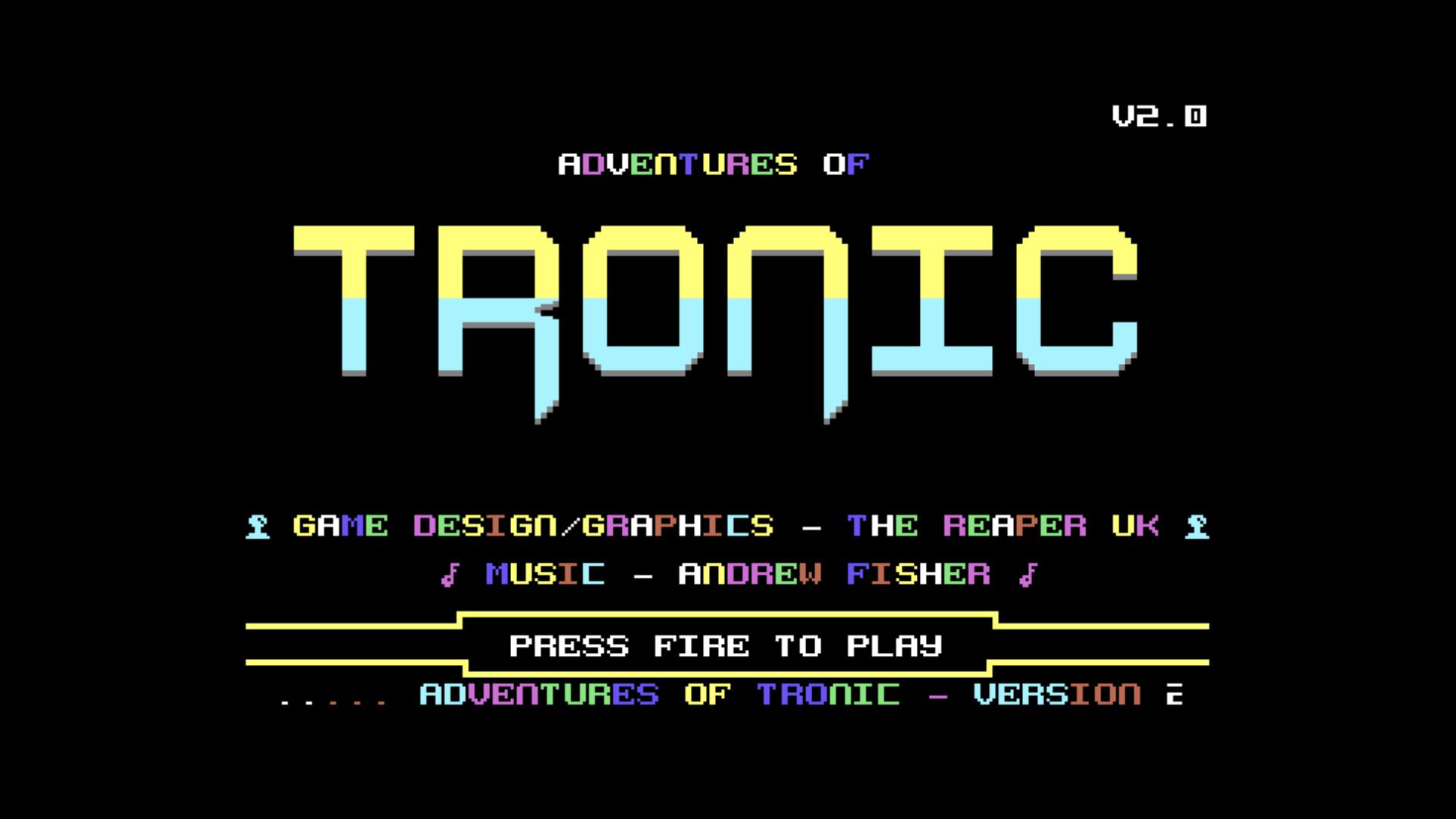 Adventures of Tronic V2 (C64)