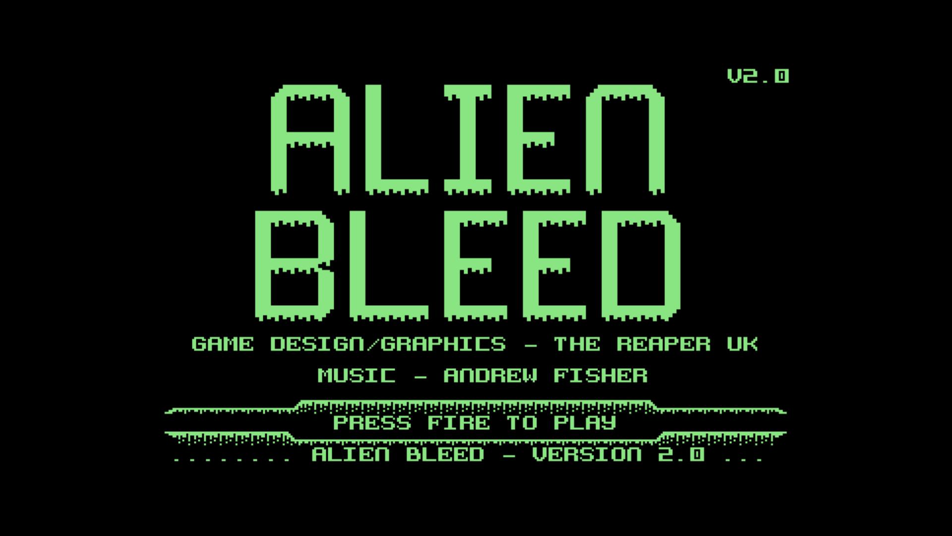 Alien Bleed V2 (C64)