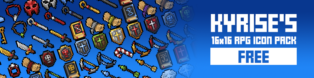 Kyrise's Free 16x16 RPG Icon Pack