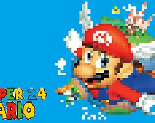 Super Mario 24 - A Doom Mod
