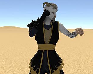 Desert GOAT | Fighting Game Jam Game