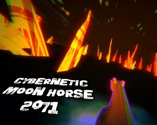 🌜 CYBERNETIC MOON HORSE 2071 🌛 Thumbnail