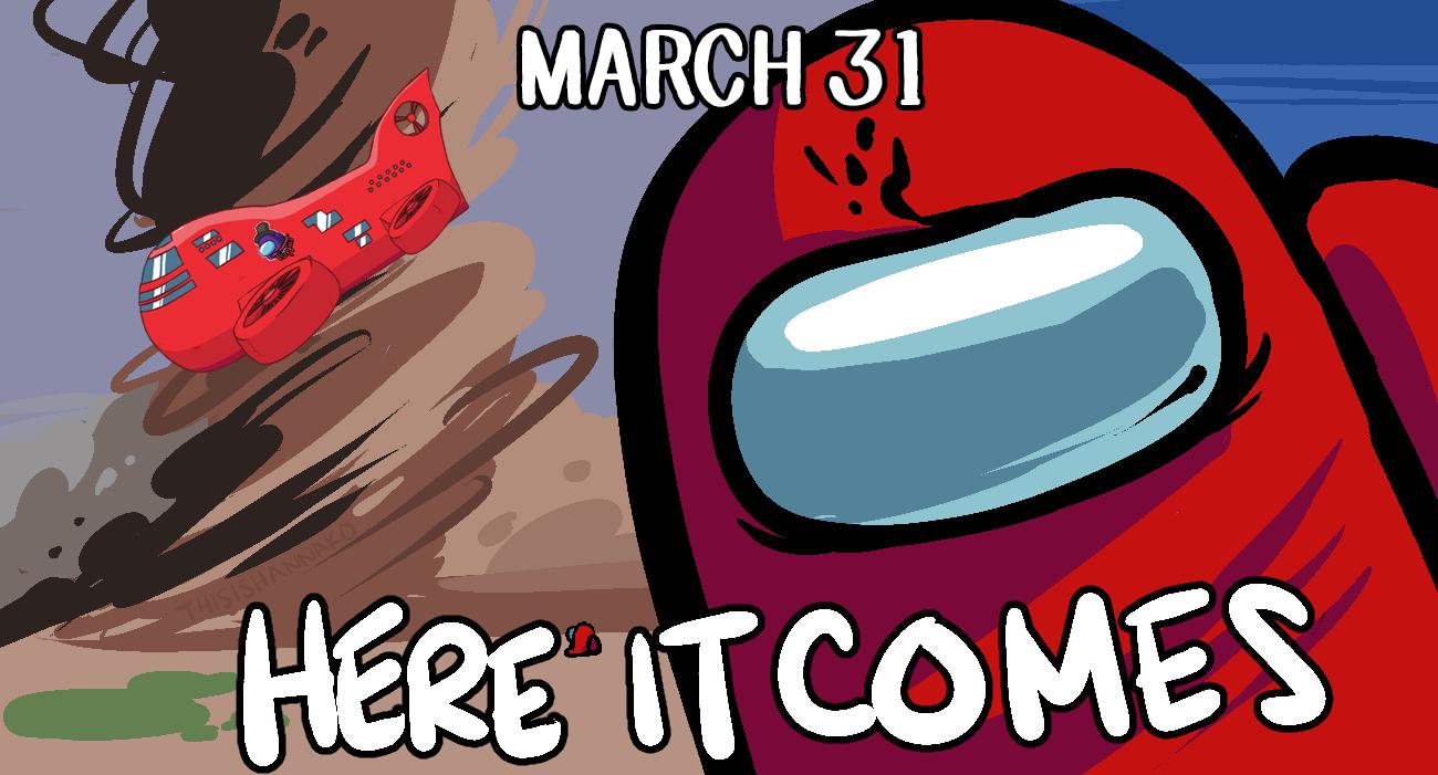 Новая карта для Among Us станет доступна 31 марта