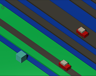 Crossy Road prototype