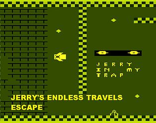 Jerry's endless travels:Escape (ZX Spectrum) (prototype)