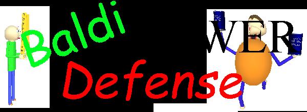 Baldi Tower Defense Alpha
