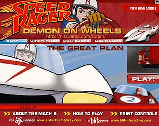 Speed Racer:The Great Plan