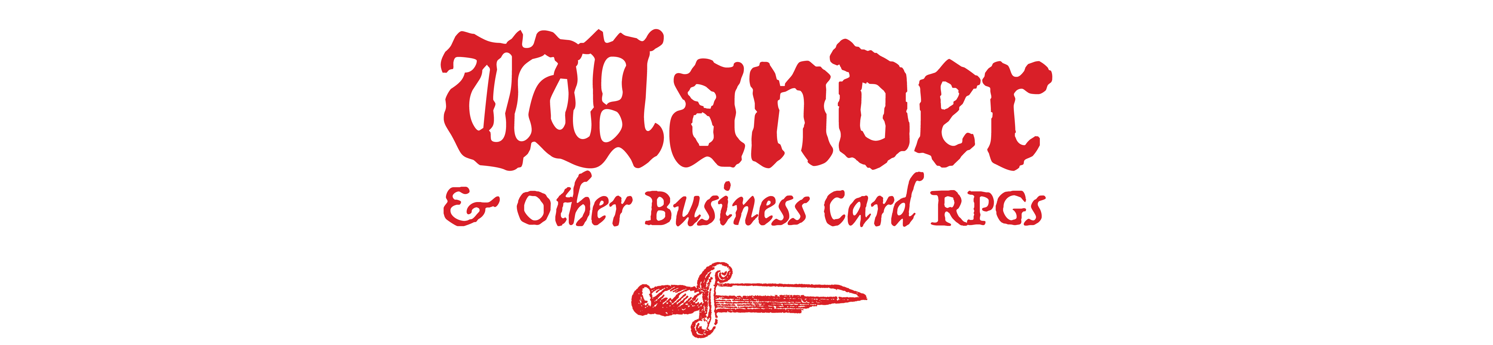 Wander and other business card RPGs