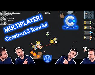 UFO Oddball! Multiplayer Construct 3 Game + Tutorial