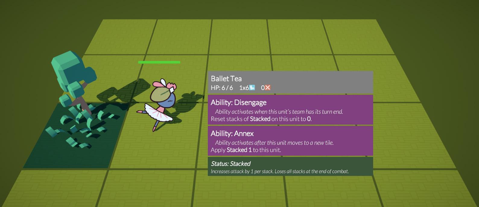 Ballet Tea's tooltips