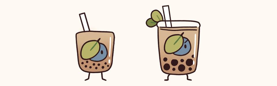 Milk-based Tea Minions