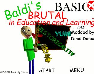 Baldi's Brutal Basics 1.4.3 Port