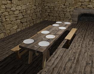 Medieval Scene Test
