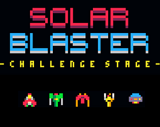 Solar Blaster: Challenge Stage [Free] [Shooter] [Windows] [macOS] [Linux]