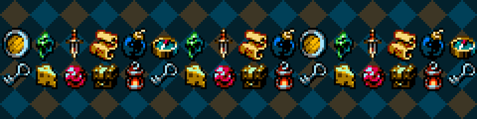 8bit Inventory items pack