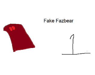 five nights with fake fazbear 1
